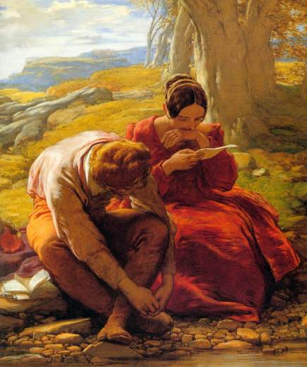 William_Mulready_-_The_Sonnet_-_WGA16319[1]