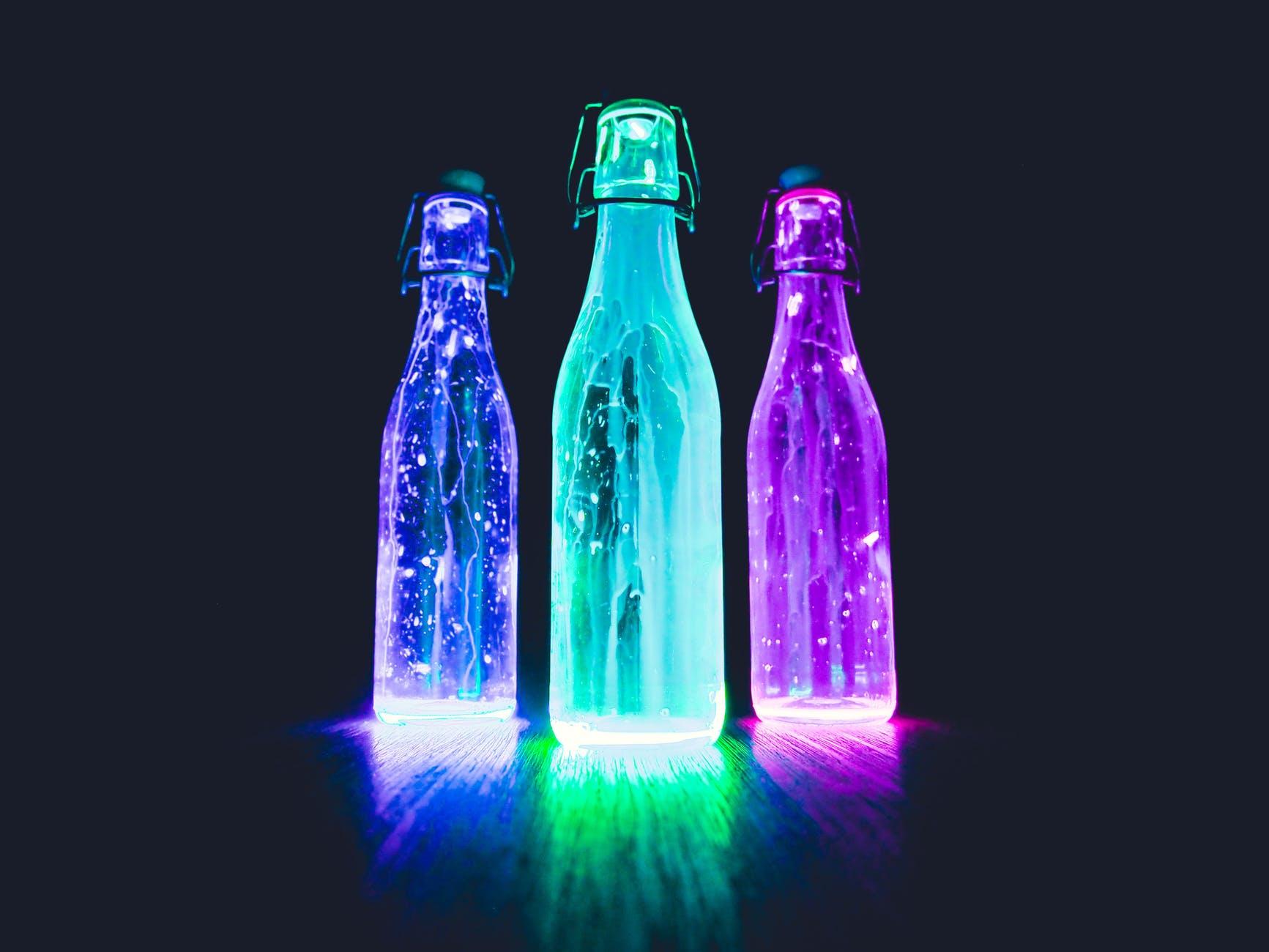 abstract alcohol art bar